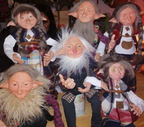 Elfe Fée Gnome Sorcière